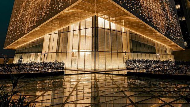 Masjid Agung Megah di Dubai UEA