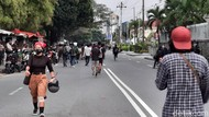 Massa Demo di Bundaran UGM Bubarkan Diri, Arus Lalin Mulai Lancar