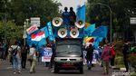 Melihat Lagi Demo BEM SI di Patung Kuda Hari Ini