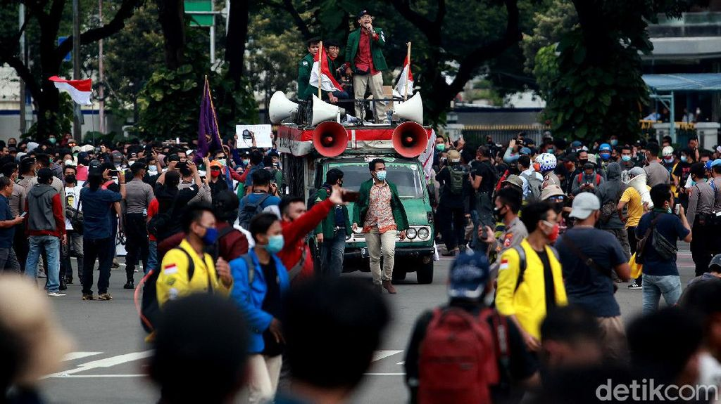 Demo Tolak Omnibus Law Kembali Digelar 28 Oktober, Ini Kata Polisi