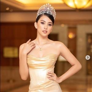 Most Pop: Gaya Miss Vietnam Curi Atensi, Berbusana Seperti Tak Pakai Celana