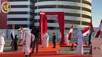 Seremoni peresmian nama jalan Presiden Joko Widodo (dalam bahasa Inggris: President Joko Widodo Street, dalam bahasa Arab: شارع الرئيس جوكو ويدودو) tersebut digelar di Abu Dhabi Senin sore (19/10/2020) pukul 16:45 waktu setempat oleh Sheikh Khalid bin Mohammed bin Zayed Al Nahyan, anggota sekaligus Chairman Abu Dhabi Executive Office.