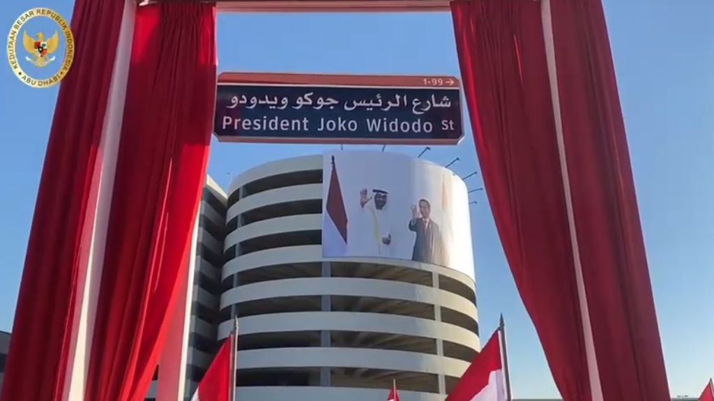 Terima Kasih dari Jokowi untuk Putra Mahkota Abu Dhabi