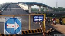 Proyek Jalan Layang di Atas Jalur Kereta Cepat Teggalluar Sudah Rampung