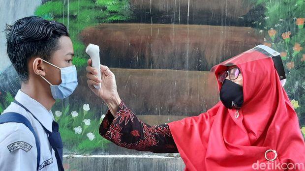 Hari pertama pembelajaran tatap muka di Banyumas, 20/10/2020