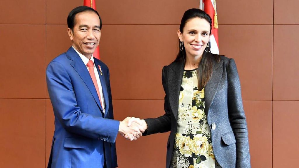 Jokowi Ucapkan Selamat ke PM Jacinda Ardern yang Menang Pemilu Selandia Baru