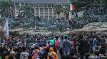 Rentetan Peristiwa Demo di Patung Kuda Hari Ini