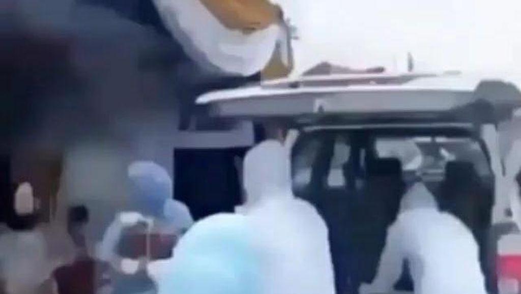 Video Viral Ambulans di Palembang Dipakai Bawa Hantaran Pernikahan