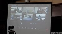 Video Hakim Tegur Djoko Tjandra karena Tidur Saat Sidang