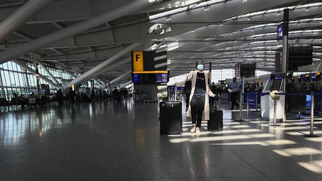 Penumpang Wajib Tes Corona di Bandara Sebelum Terbang Keluar Inggris