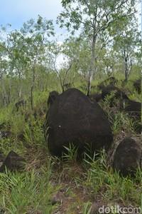 Kurangnya edukasi membuat situs megalitikum ini kotor dan sering dicorat-coret. (Hari Suroto/Istimewa)