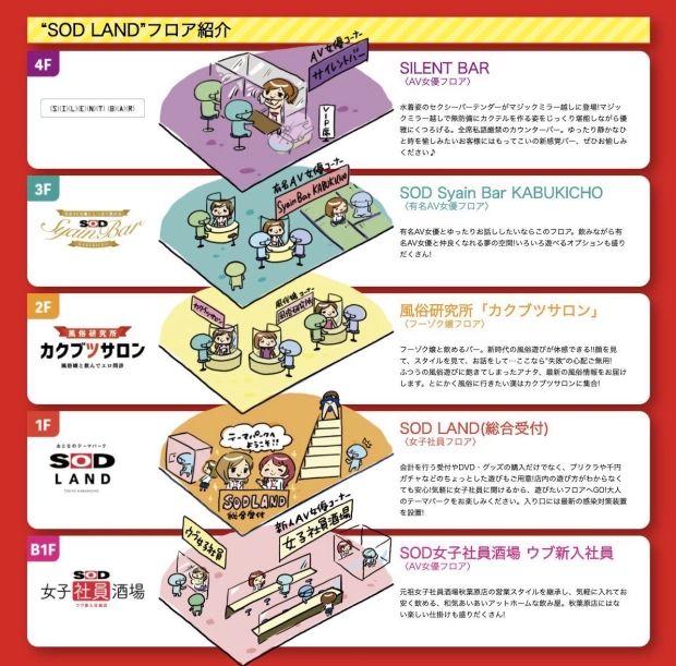 Soft On Demand Land, taman bermain khusus dewasa di Jepang.