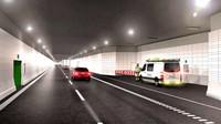 Nama resmi terowongan ini adalah Fehmarnbelt Fixed Link. Bangunan ini akan menjadi gabungan terowongan jalan dan rel terpanjang di dunia. Terowongan Fehmarnbelt akan memiliki dua jalur jalan raya dan dua jalur rel kereta listrik.