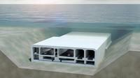 Terowongan Fehmarnbelt ada di kedalaman 40 meter di bawah Laut Baltik. Bila pekerjaannya berjalan lancar, terowongan ini akan dibukapada tahun 2029.