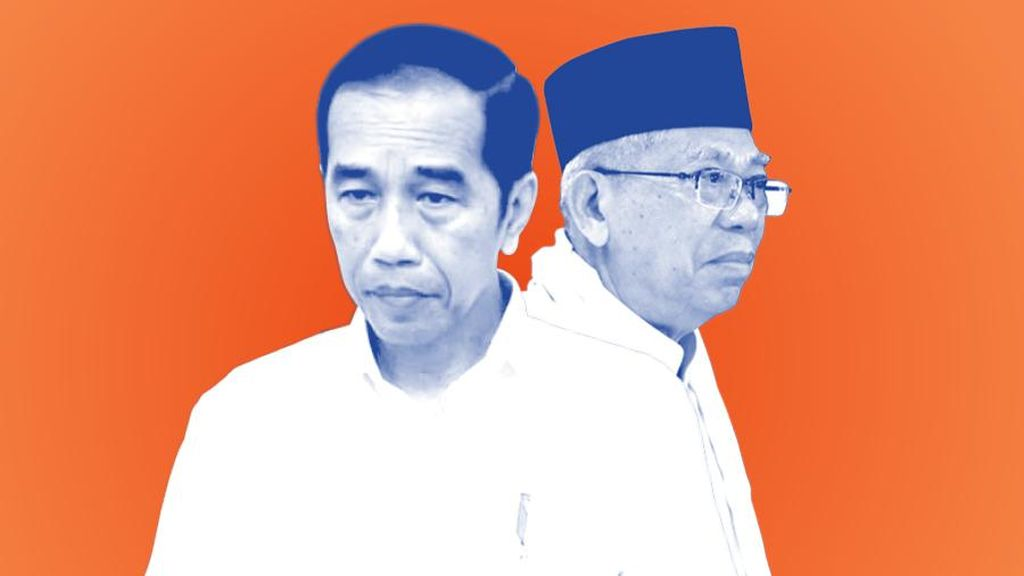 Survei LP3ES: 63% Responden Puas dengan Kinerja Jokowi-Maruf