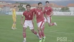 Timnas Indonesia U-19 Vs Hajduk Split: Garuda Muda Menang Telak 4-0