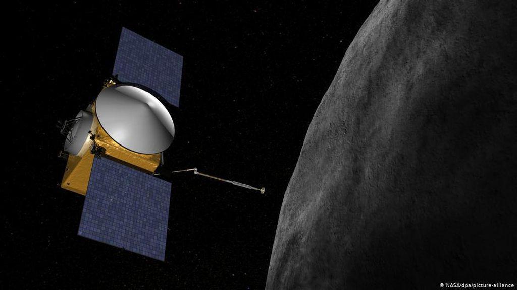 Wahana Antariksa Osiris Ambil Sampel Batuan Asteroid Bennu