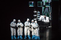 Opera bertajuk Angels Diary tersebut menceritakan tentang perjuangan Wuhan dalam menangani pandemi COVID-19.