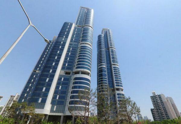 Kompleks apartemen Jungkook di Trimage.