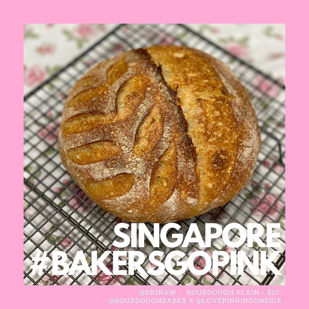 'Bakers Go Pink' Diramaikan 40 Pembuat Roti dari Jakarta hingga Amerika Serikat