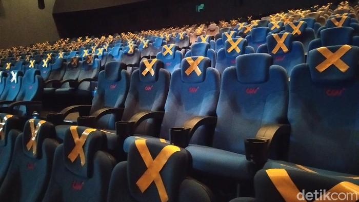 Bioskop CGV Grand Indonesia buka kembali (Arun/detikcom)