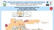 Surabaya Mendung, BMKG Sebut Ada Sejumlah Wilayah Akan Diguyur Hujan