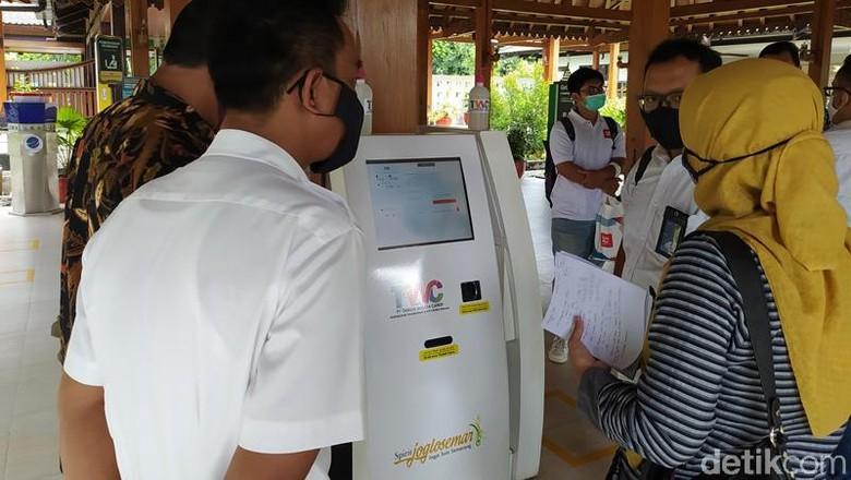Candi Borobudur, Prambanan, dan Ratu Boko terapkan tiket masuk nontunai mulai Rabu (21/10/2020).