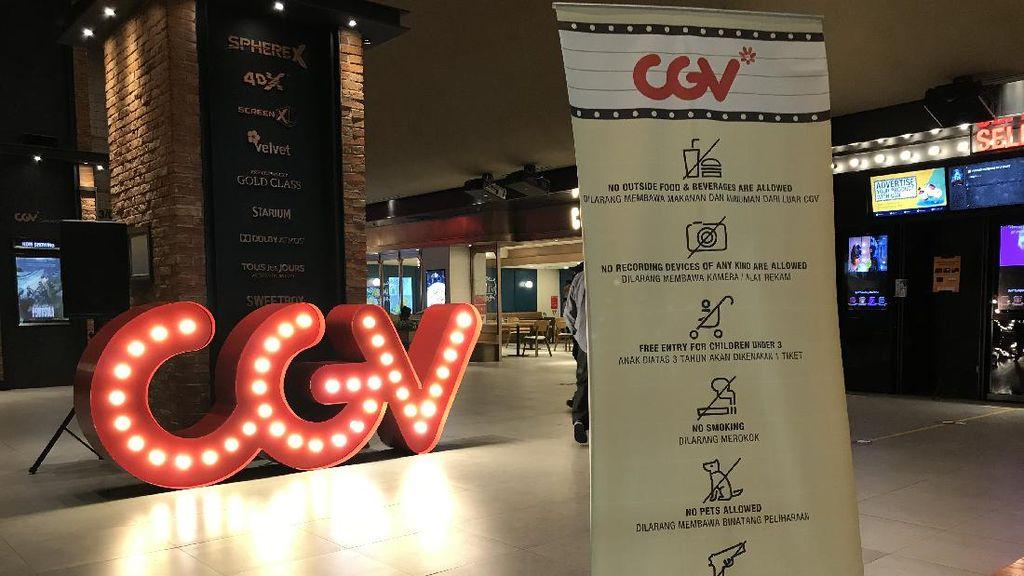 Satu Bulan Buka, CGV Akui Masih Kekurangan Konten Film untuk Diputar