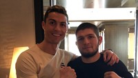 Cristiano Ronaldo ke Khabib: Dulu Assalamualaikum, Kini Insya Allah