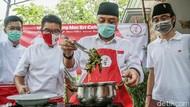 Eri Cahyadi Masak Gulai Daun Singkong Resep Warisan Bung Karno, Hasilnya?