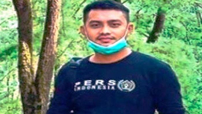Foto mendiang Demas Laira (28), wartawan yang menulis di beberapa median daring yang ditemukan tewas, diduga sebagai korban pembunuhan. (ANTARA/HO)