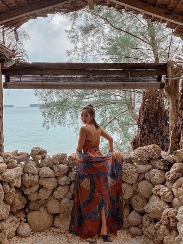 Kapan kamu liburan ke Pulau Macan seperti Gisel?