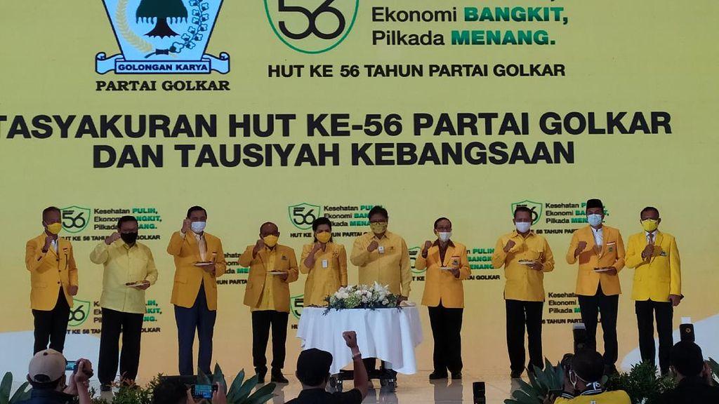 HUT Ke-56, Partai Golkar Ingin Jadi Panutan Warga di Pilkada