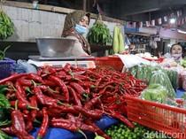 Pedas! Cabai Merah Besar di Jakarta Tembus 60.000 Rupiah Perkilo
