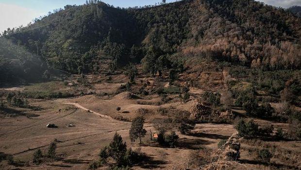 Kawah Wurung di Bondowoso, Jatim