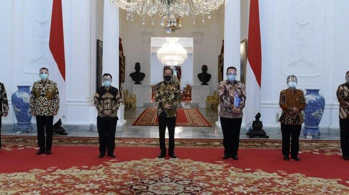 Ketua FRI, Prof Arif Satria bertemu dengan Presiden Joko Widodo di Istana Merdeka Jakarta pada 19 Oktober 2020