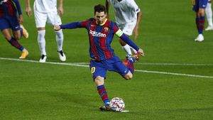 Video Jamu Ferencvaros, Barcelona Menang Telak 5-1