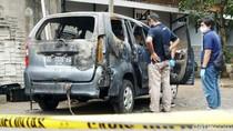 Detik-detik Mobil Terbakar di Sukoharjo yang Berisi Mayat Terikat