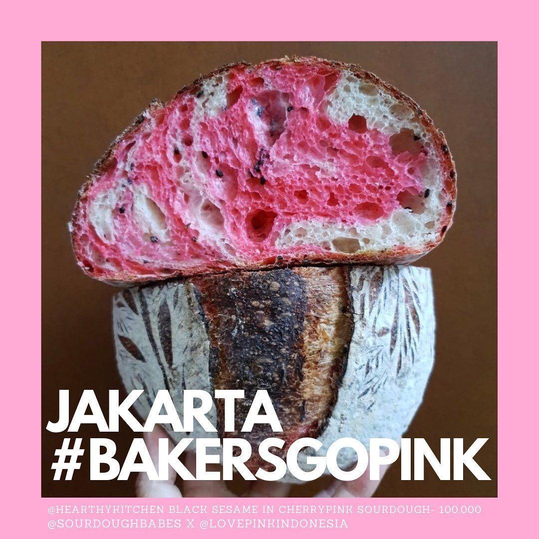 Melalui 'Bakers Go Pink' 40 Baker Jual Roti Untuk Penderita Kanker Payudara