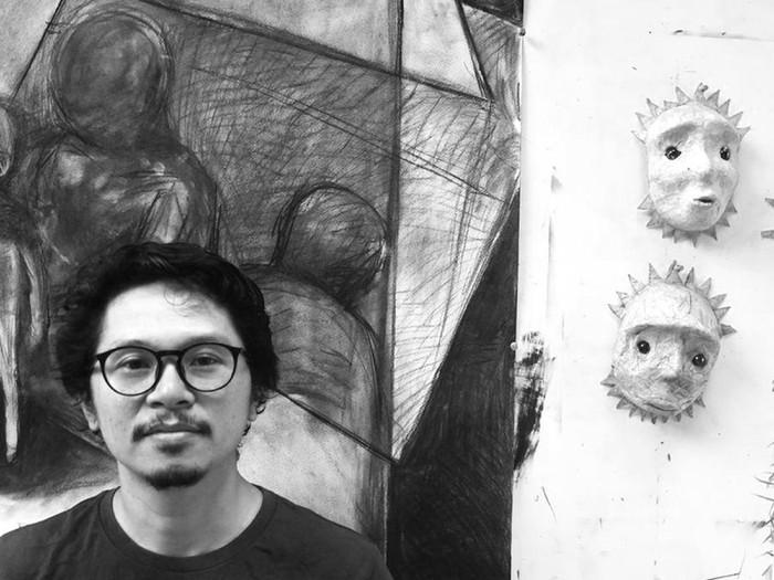 Pameran Tunggal Seniman Yogyakarta Iwan Effendi di Singapura