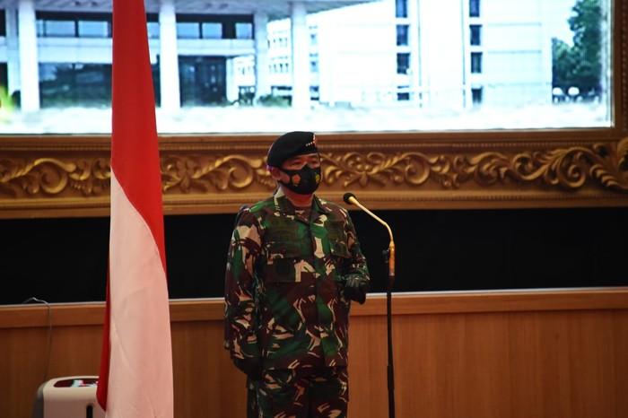 Panglima TNI terima laporan korps kenaikan pangkat