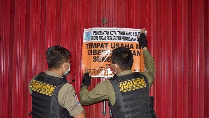 Panti pijat di Tangsel digerebek Satpol PP karena langgar PSBB (Dok Istimewa)
