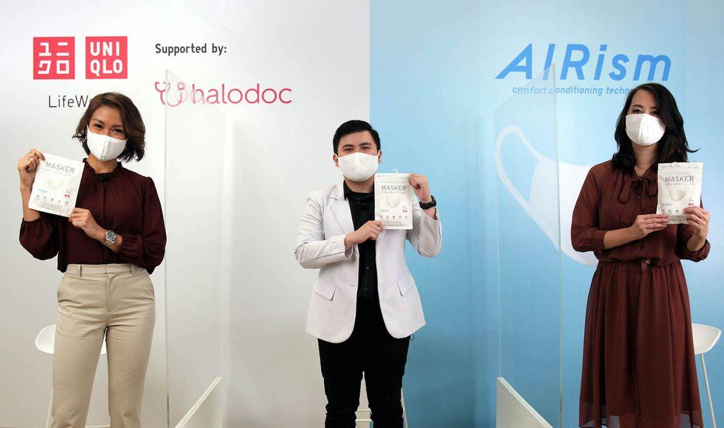 Peluncuran Masker AIRism