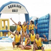 Keseruannya bermain di Aqualand Bali.