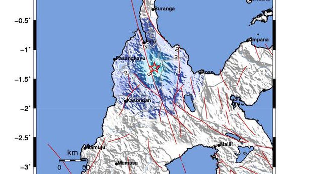 Gempa M 4,4 Terjadi di Tomado Sulteng, Berpusat di Darat