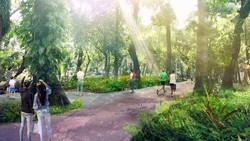 Intip Rancangan Revitalisasi Taman Tebet Jadi Eco Garden