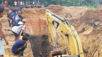 Tambang Batu Bara di Muara Enim Sumsel Longsor, 11 Orang Tewas