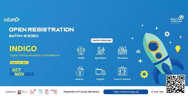 Telkom kembali membuka program inkubasi atau akselerasi startup digital lewat Indigo Creative Nation.