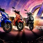 TVS Luncurkan Skutik Edisi Spesial dengan Liveryala Superhero Marvel