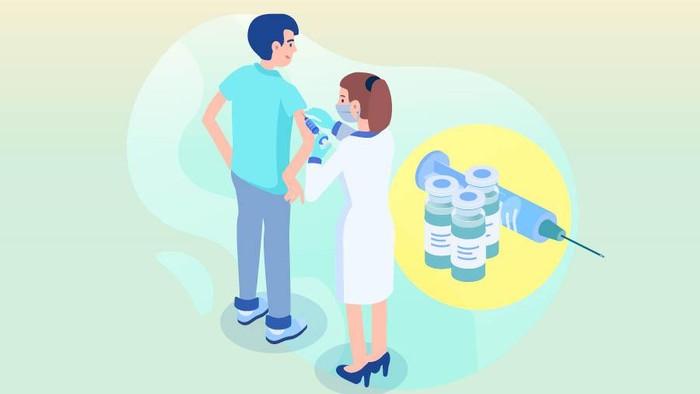 Ilustrasi vaksinasi